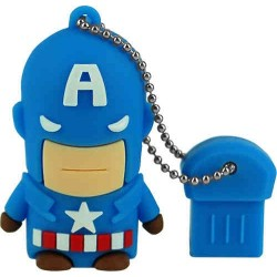 Pendrive USB Mooster 8GB Capitán América