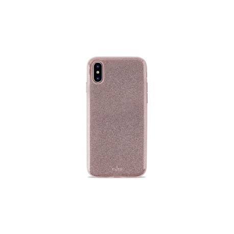 Puro funda Shine Apple iPhoneXR oro rosa