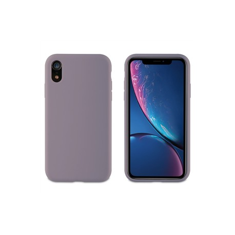 muvit carcasa Apple iPhone XRLiquid Edition lavander grey