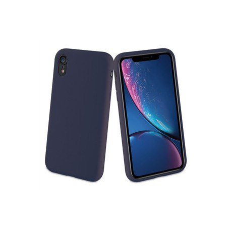 muvit carcasa Apple iPhone XRLiquid Edition midnight blue