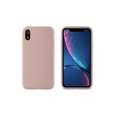 muvit carcasa Apple iPhone XRLiquid Edition pink sand