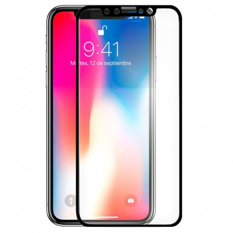 Cristal templado completo iPhone X / iPhone XS / iPhone 11 Pro